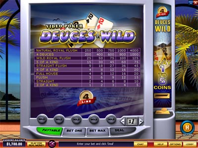 Cash Draw Poker Video Poker - Try Playing Online for Free