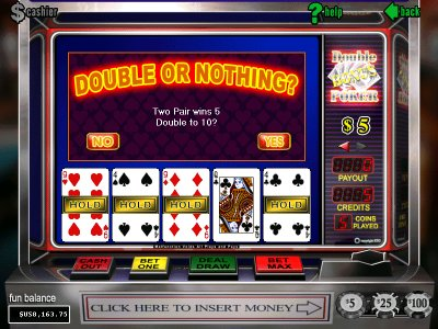 Play video poker at Golden Tiger
